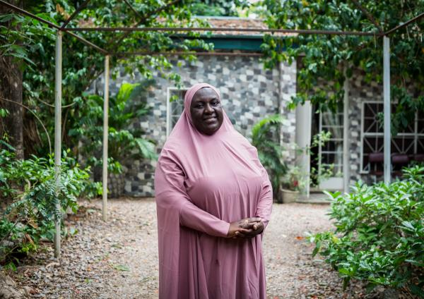 Madam Habiba Mohammed, the Director for the Centre for Girls Education, founded the centre in 2008. The CGN continues to make a lasting impact on the lives of young girls and women in the areas they operate.