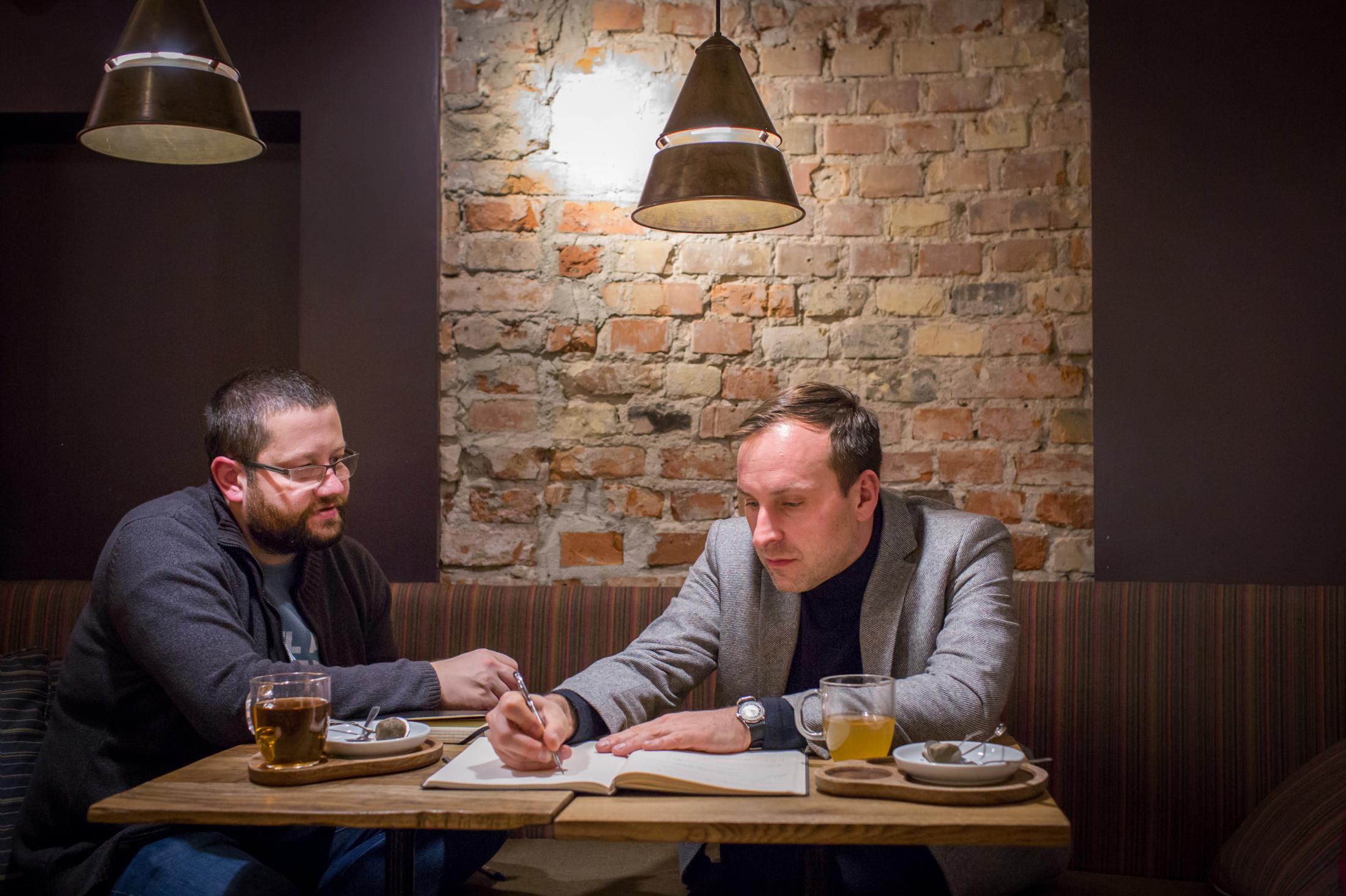 Mateusz Rossienik and Jarosław Trybuś