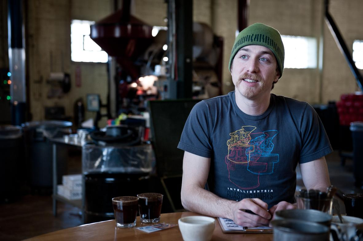 Portrait of a coffee roasting expert in the Chicago roasting works. ©ChiaraCeolin2013