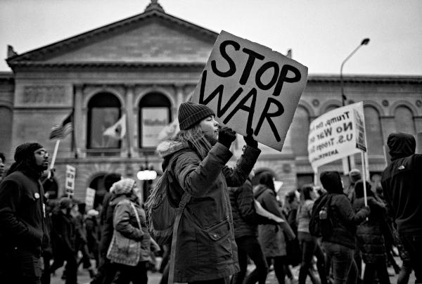 No War Protest - Chicago