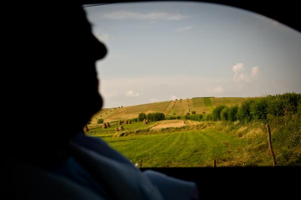 A day in the village of the missing generation - Romania
