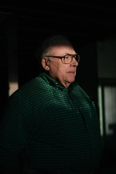 Donald Stuart Young, 82, stands for a portrait at his home in Center Valley, PA on Thursday, December 12, 2019. Young first worked at Bethlehem Steel in Baltimore in 1956. Bethlehem Steel was the United States second-largest steel producer and largest shipbuilder. Hannah Yoon