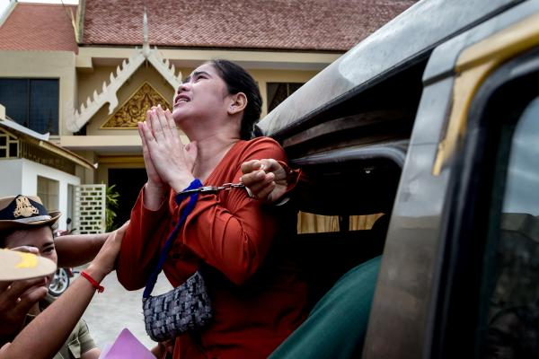 A woman's Cry: The detention of Tep Vanny