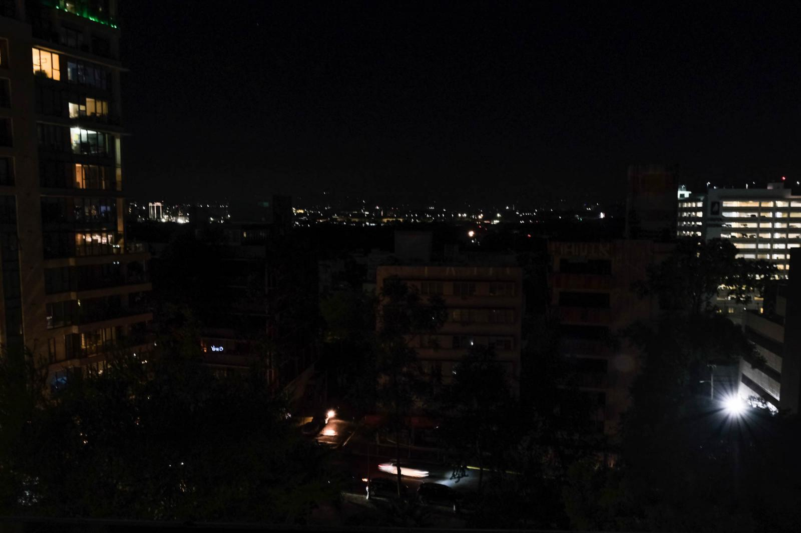 On the morning of January 7th, 2020, two earthquakes of 6.6 and 6.0 were reported in the southwestern region of Puerto Rico producing an island-wide blackout. Nightfall in Santurce, San Juan. Gabriella N. Báez for CNN.