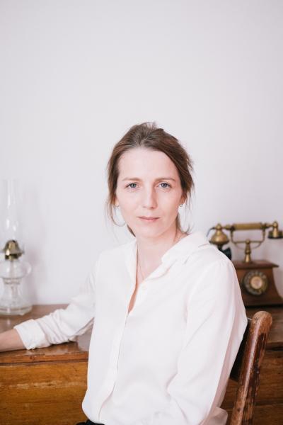 The Canadian writer Mélissa Grégoire for Le Devoir