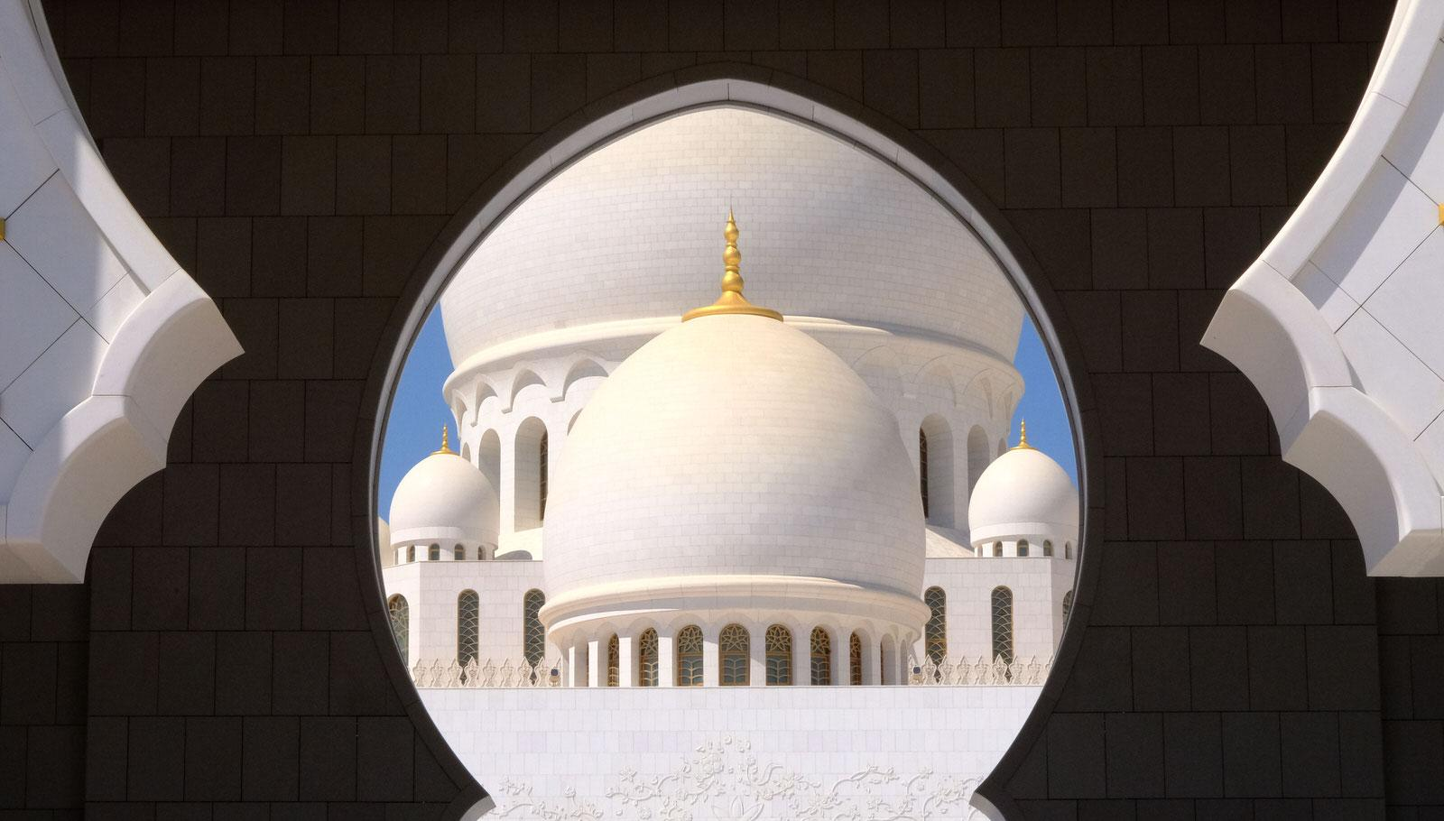 The  Sheikh Zayed  Grand  Mosque  - Abu Dhabi