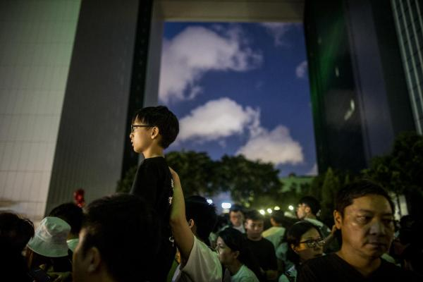 2019年6月9日,民間人權陣線發起反對《逃犯條例》修訂的「守護香港反送中」大遊行,民陣在晚上宣布遊行總人數為103萬。