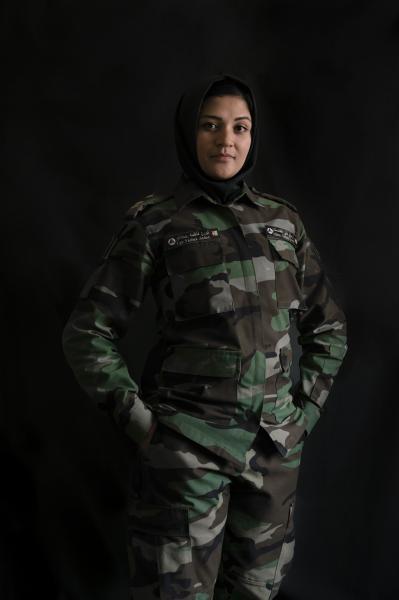 KABUL | AFGHANISTAN | 8/7/17 | Captain Fatema Saadat (28) from Kabul
