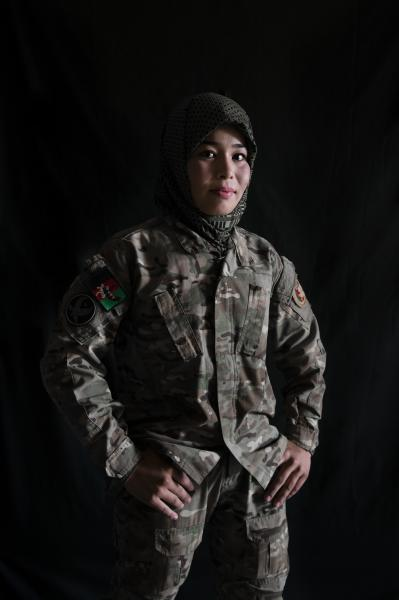 KABUL | AFGHANISTAN | 8/7/17 | Safia (24) Special forces unit 333