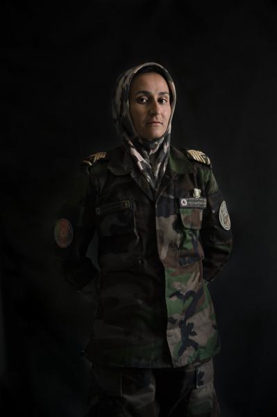 KABUL | AFGHANISTAN | 8/7/17 | Sergent Fatema Saadat (25) from Kabul