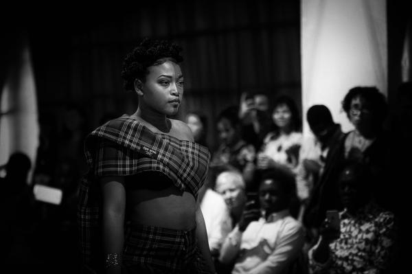 Afro Fashion Week in Milan, Italy