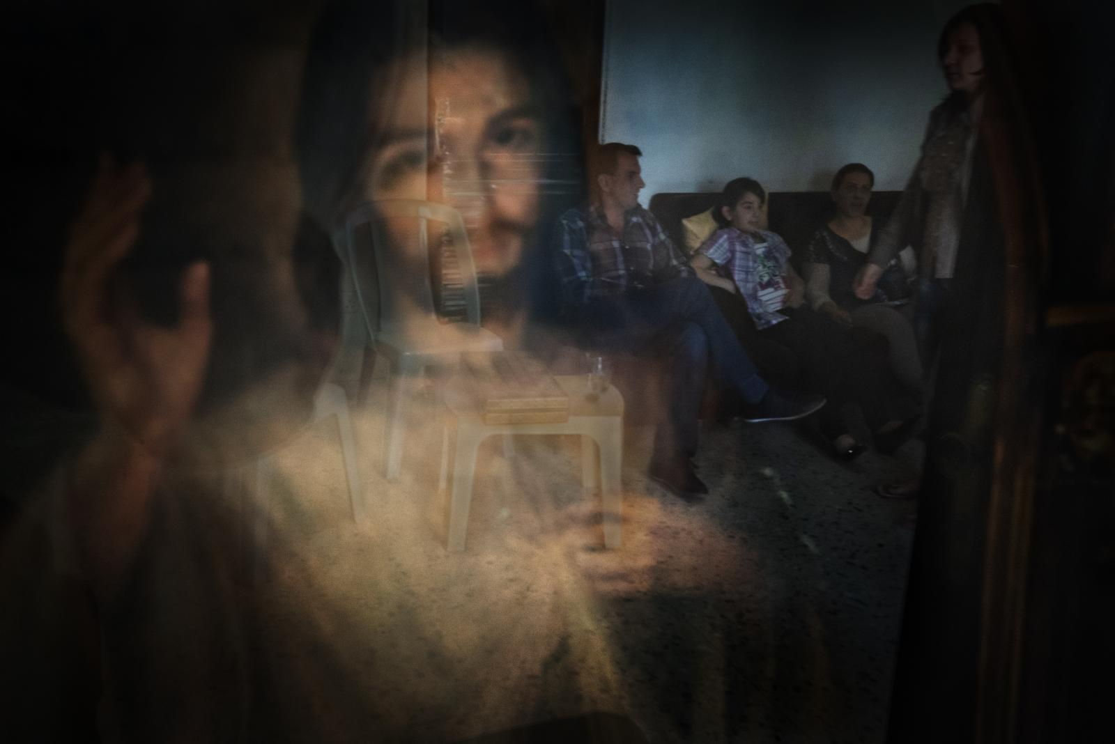 Christian refugees from Mosul (Iraq) in a refugee camp in Amman. They were some of the few people fortunate enough to escape in time with their lives from the hands of ISIS (Jordan, 2015)