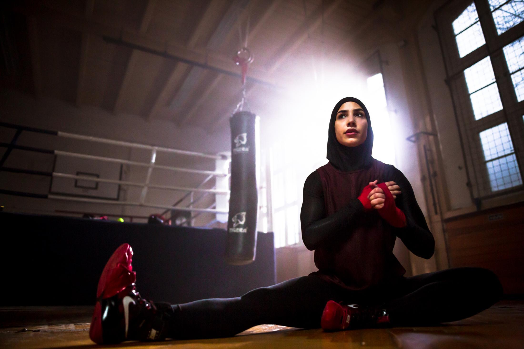 Zeina Nassar - German featherweight boxing champion