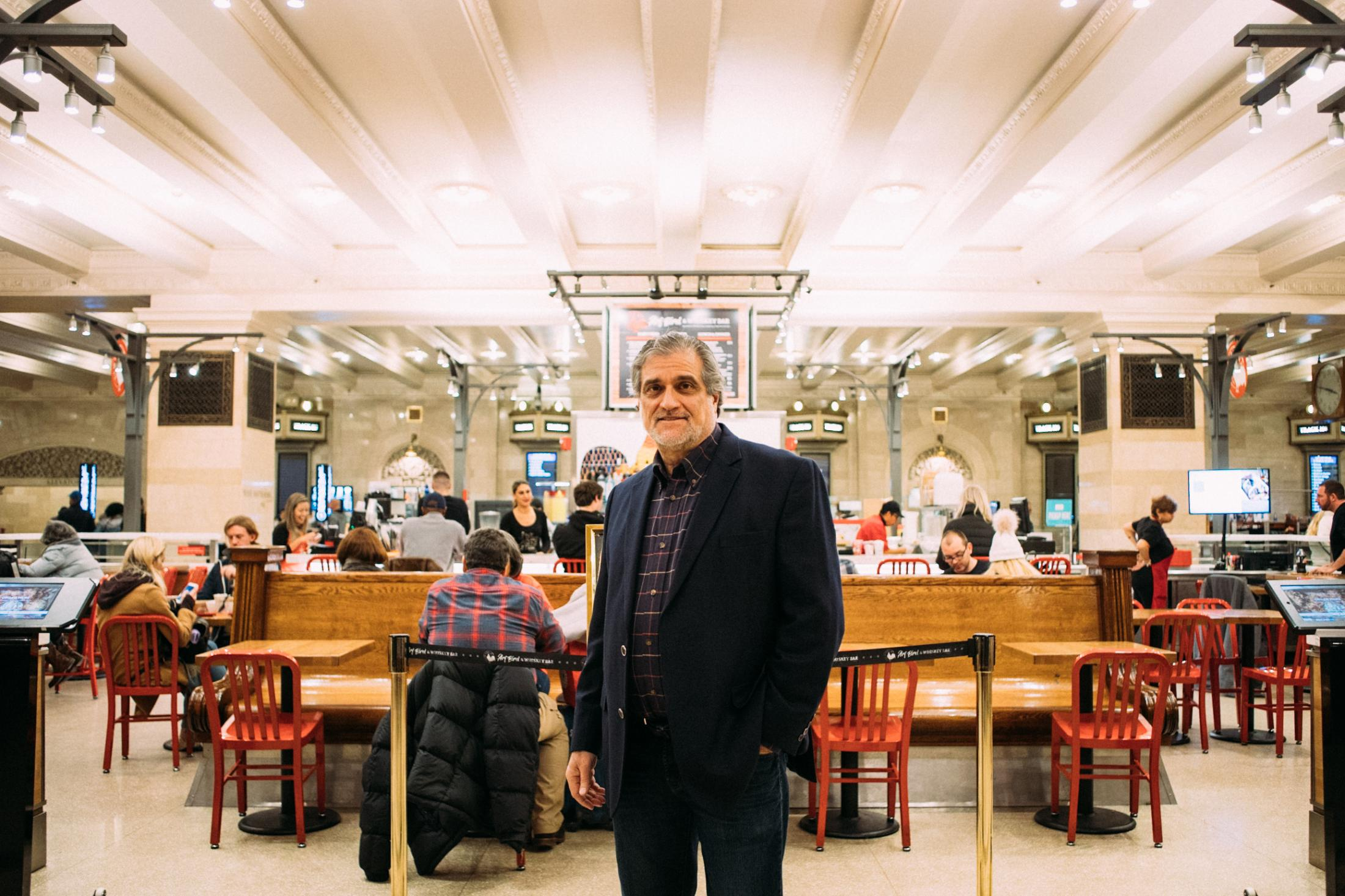 Joe Germanotta, the owner of Art Bird and Whiskey Bar, for The Wall Street Journal