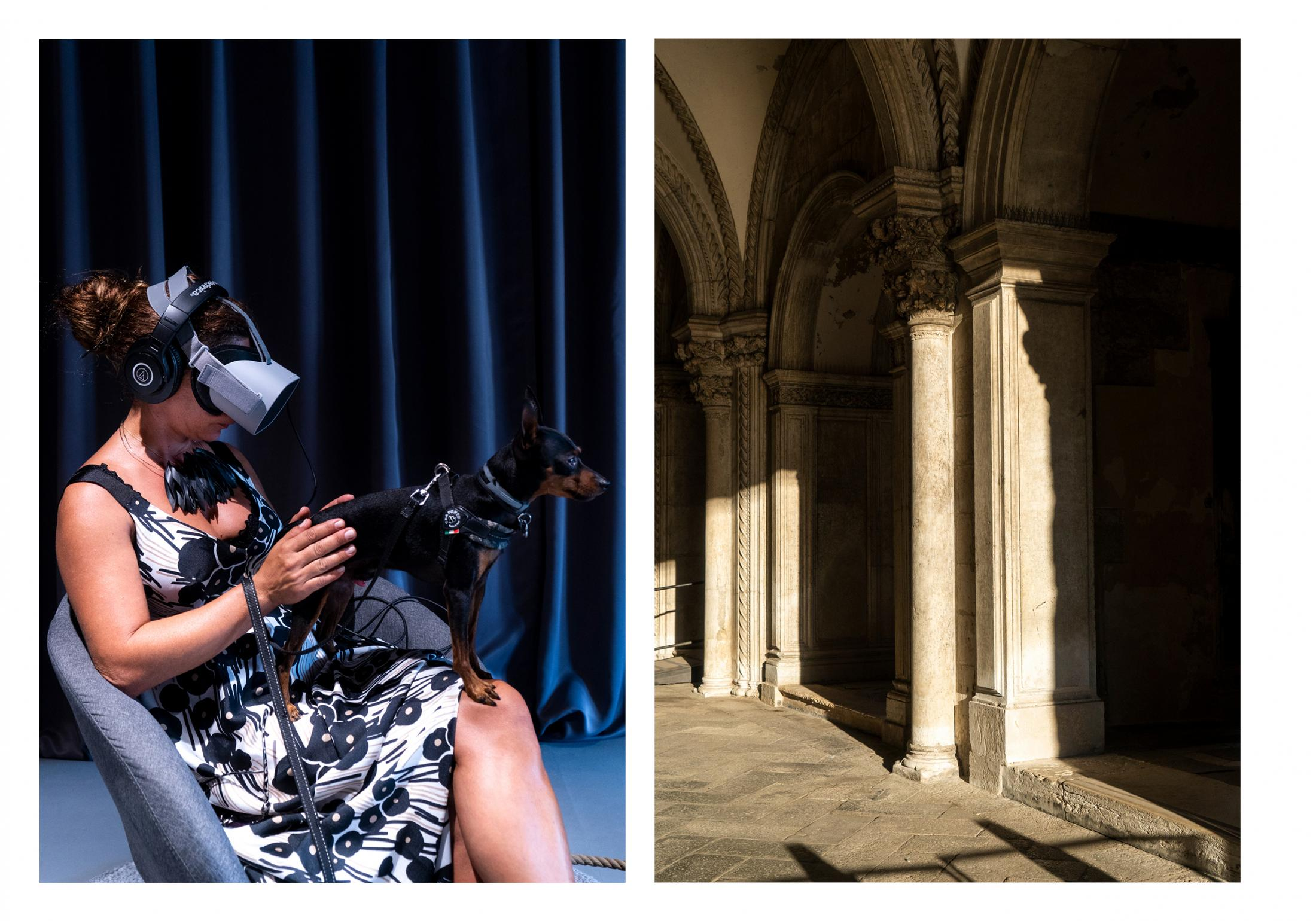 VR installation by Phi Centre during the Biennale Cinema in Venice and a glimpse of the city. Commisioned by Phi Centre (Montreal)