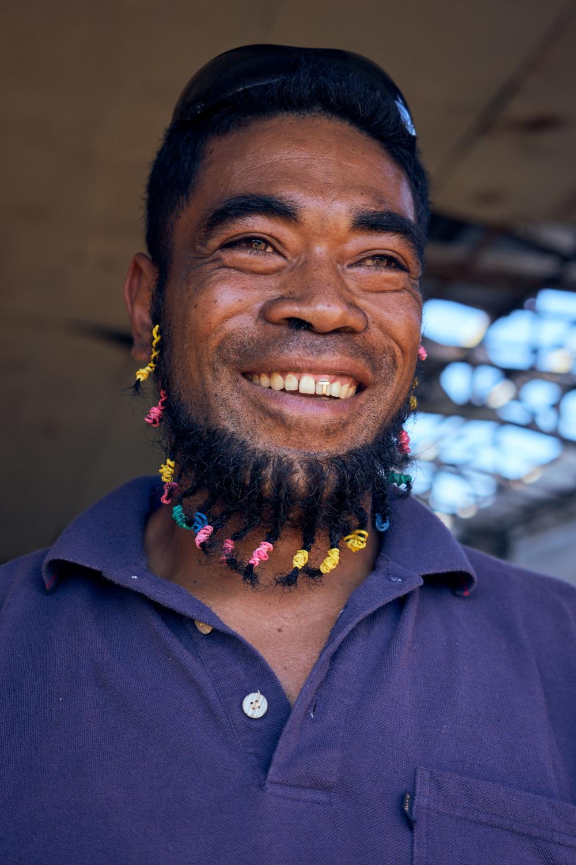 Tupu Molia, 36, 'Eua Community Facilitator.
