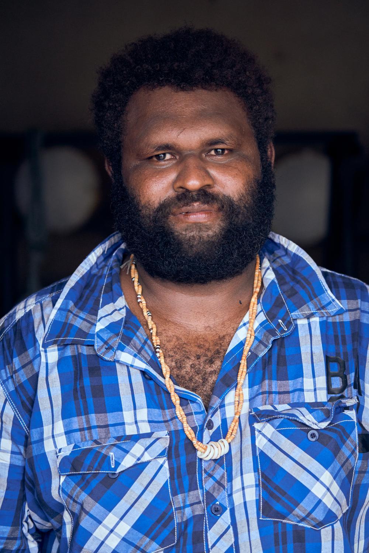 David Fono, age 32, Accounts Manager and cocoa bean trader, Arania Enterprises Coocoa Buyers and Exporters. Auki, Malaita Province, Solomon Islands.