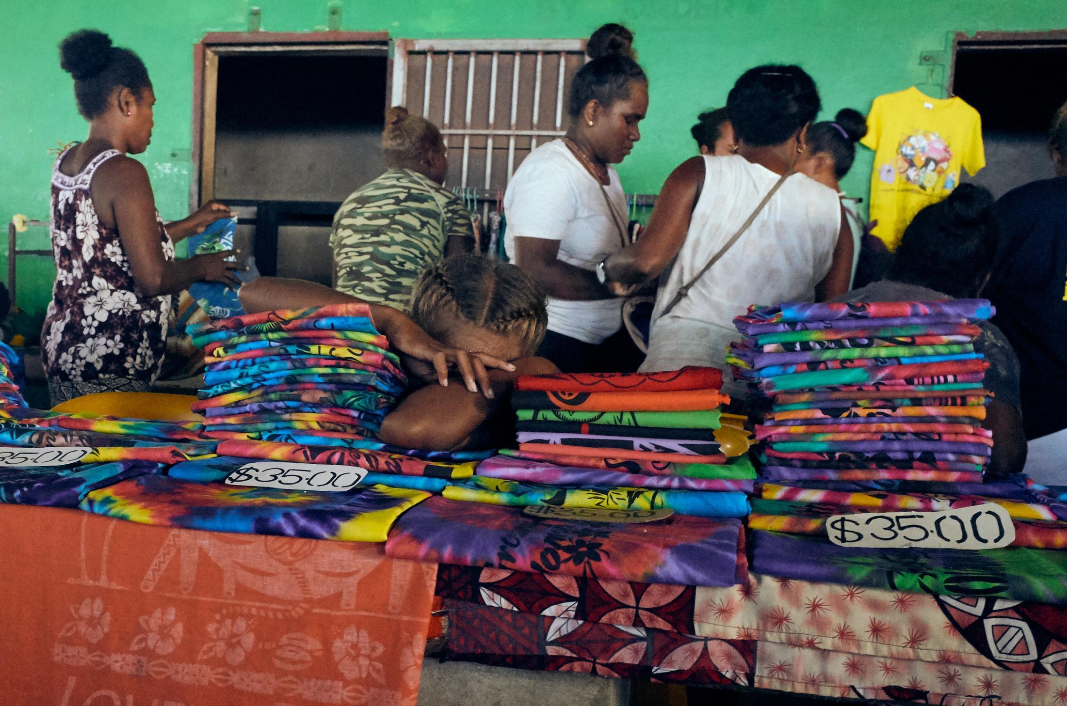Honiara central marketplace.
