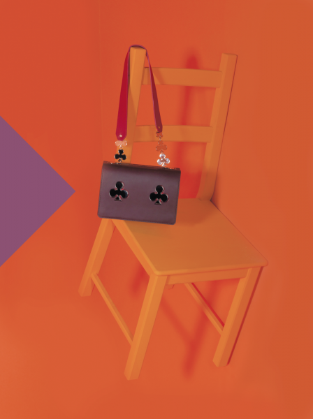 Rolling Stone editorial for Mipel, the bag show fair. Credits: Le carose bag, Baldessari&Baldessari design for Riva 1920,Tenerè vase andmetal grove by Gustavo Martini Designer Concept and pictures by Monica Silva