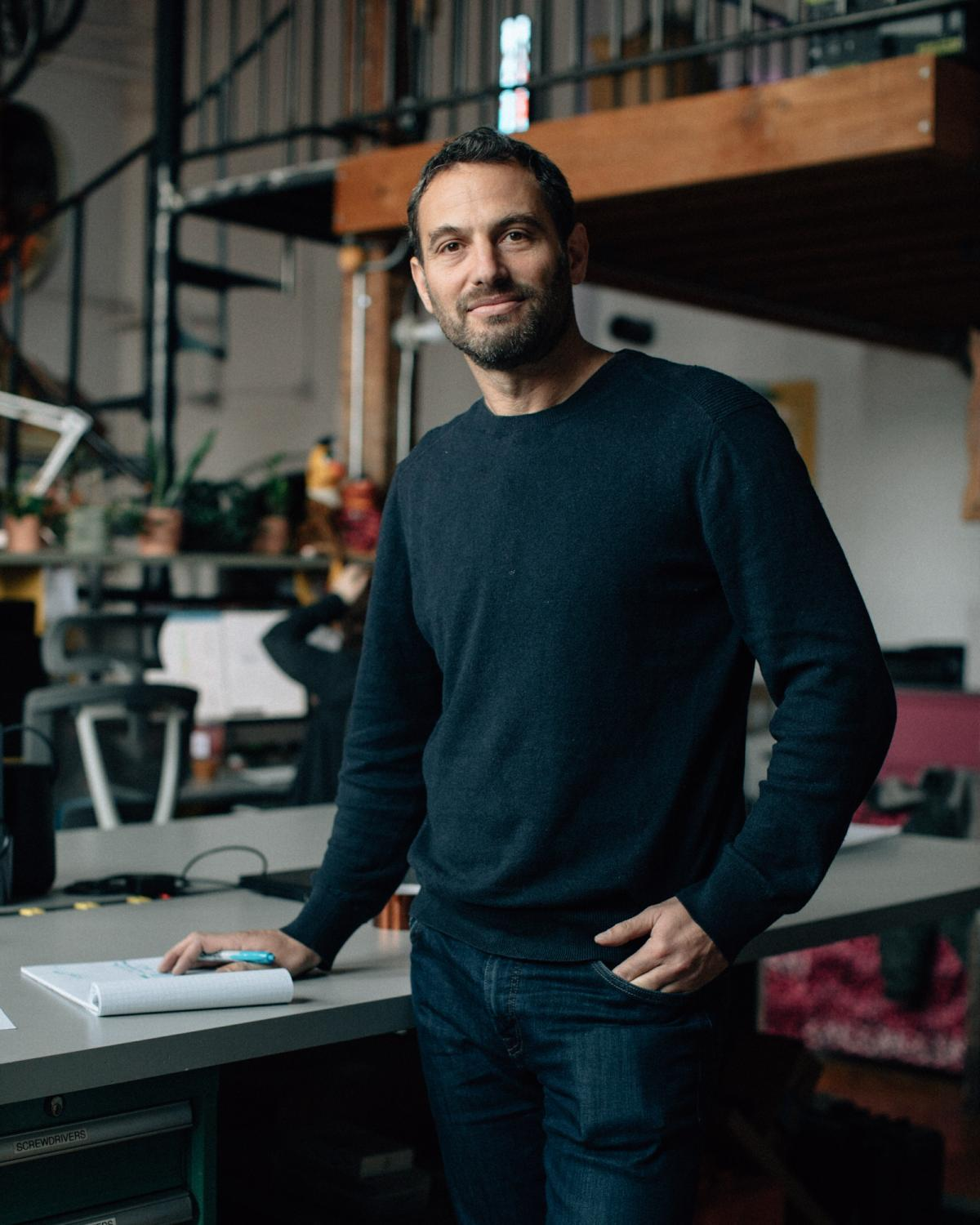 Joey Stein, co-founder and vice president of Moey Inc., for The Wall Street Journal