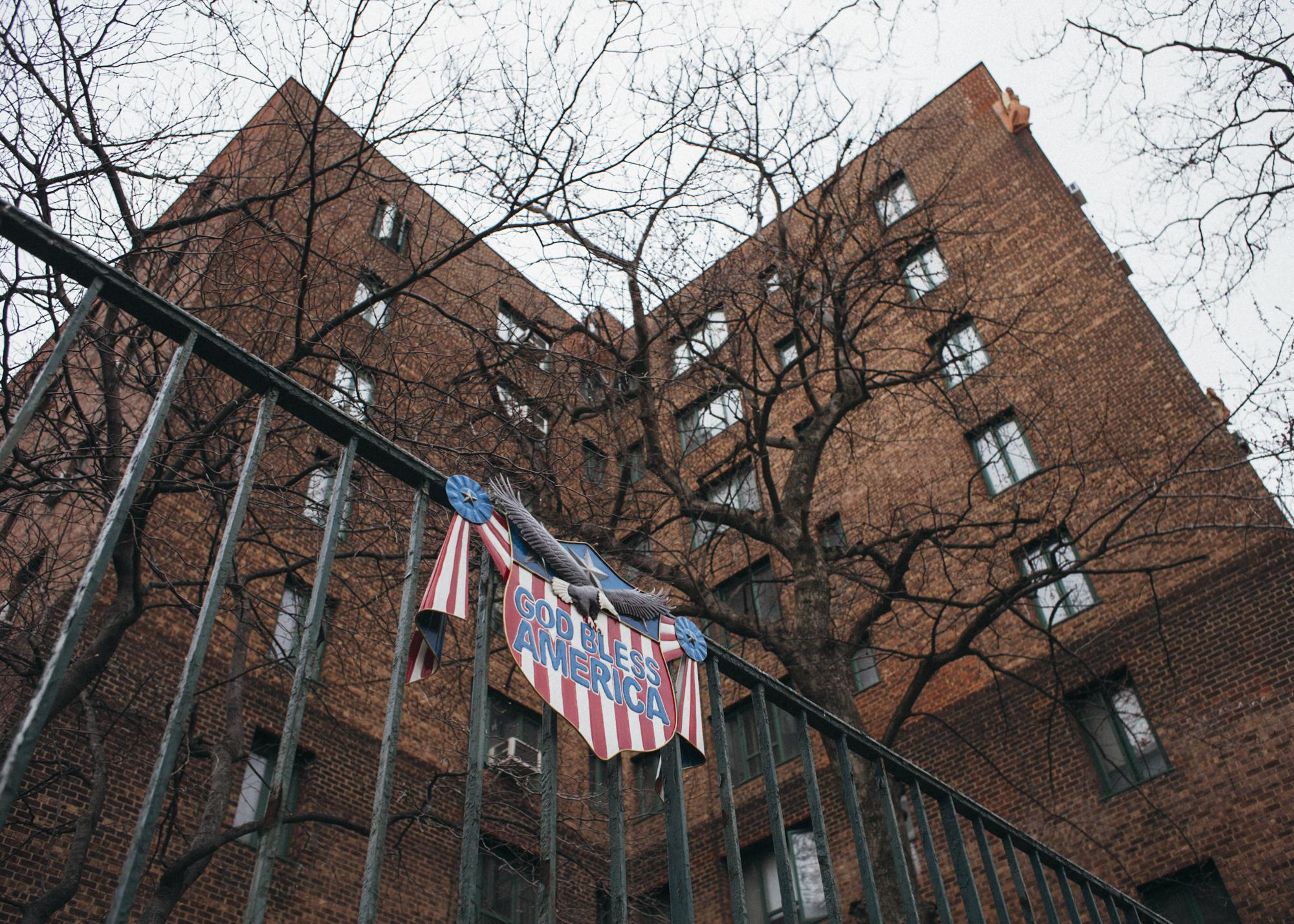 A view of one of the buildings that make up much of neighborhood Parkchester, the same neighborhood Alexandria was born and where her campaign took its first steps, in The Bronx neighborhood of New York City, April 6, 2018.