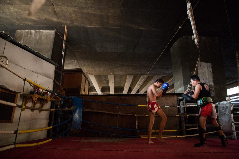 Muay Thai in Bangkok, Thailand