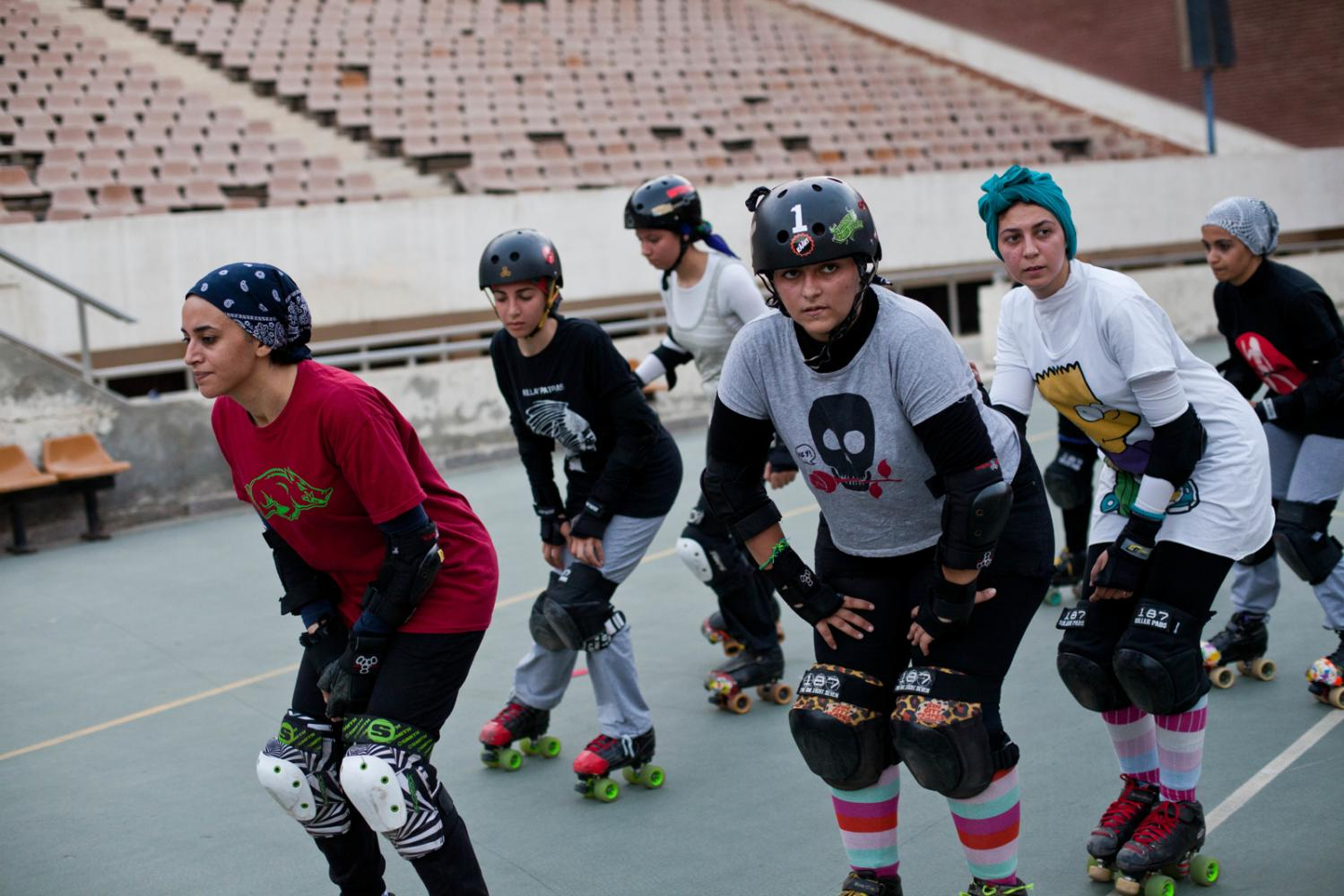 Cairollers: Egyptian Roller Derby