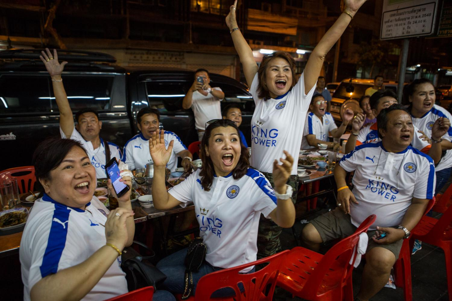 Thailand's Leicester City supporters