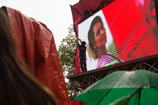 Myanmar's First General Election - For The Associated Press