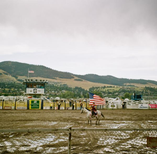 An event for missing and murdered Native American women and girls at the Missoula state fair, Montana.