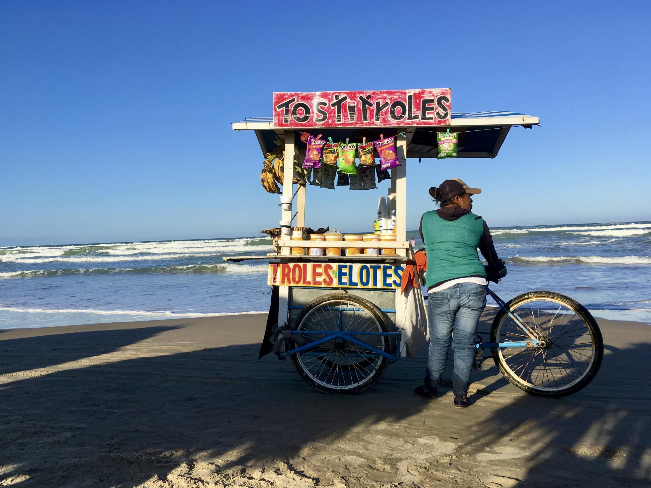 Playa Miramar, Tamaulipas, México - October 2017