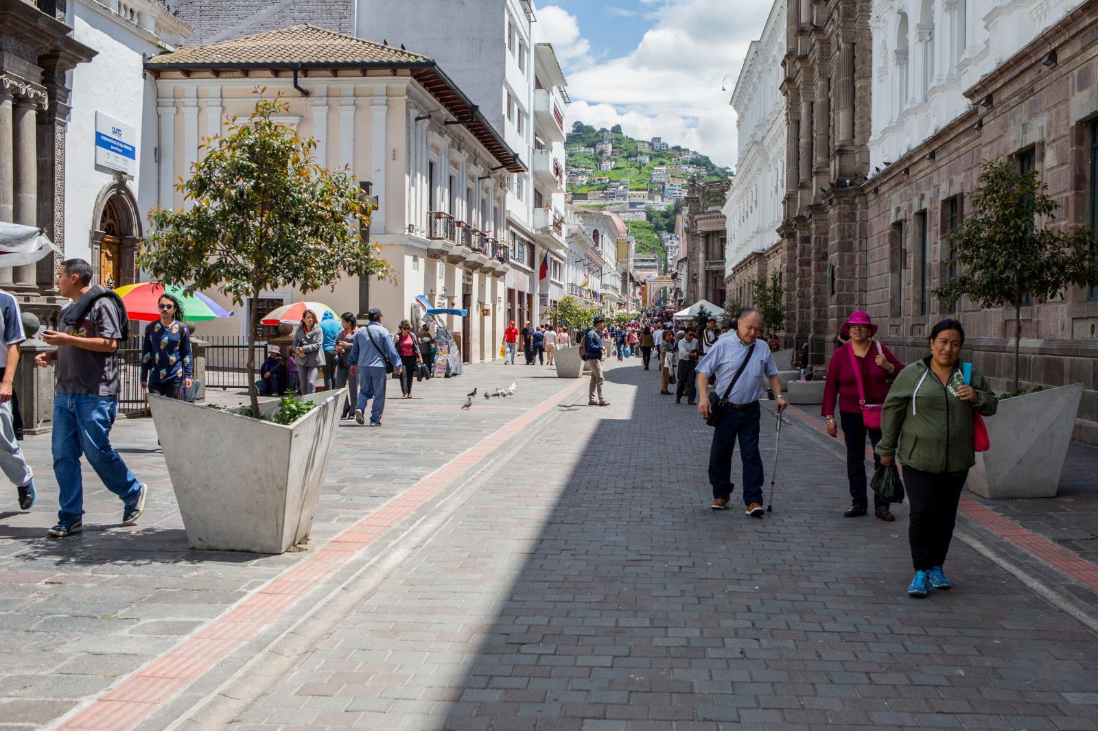 Quito: Centro Histórico, 2019.