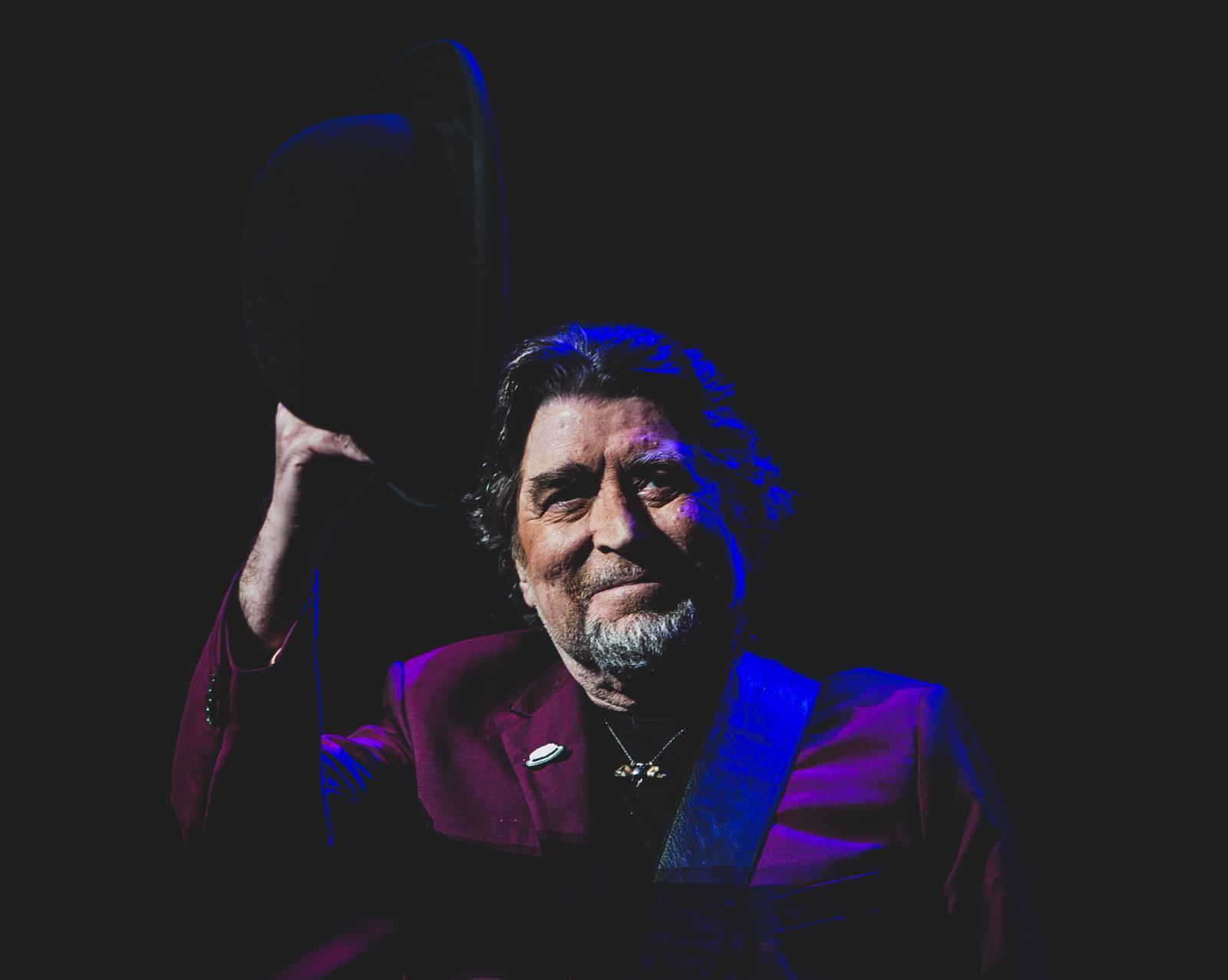 Joaquín Sabina, 2018.