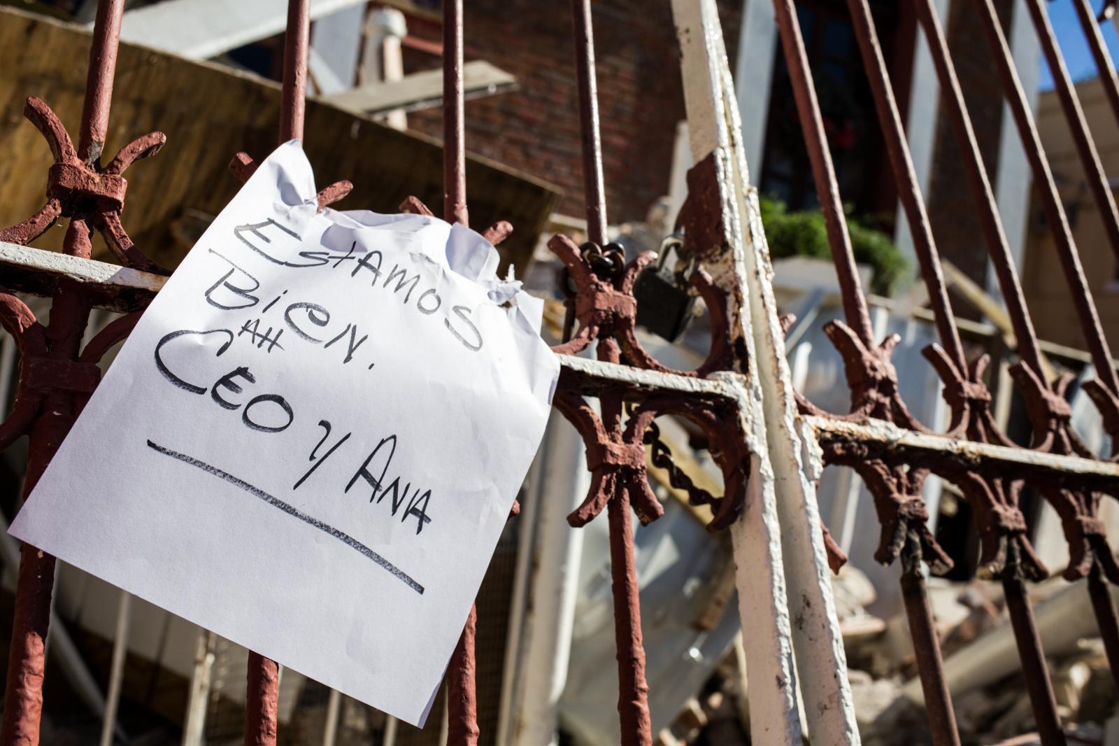7 de enero de 2020. Edificaciones en el municipio de Guayanilla quedaron derrumbadas por el sismo en la madrugada de hoy.