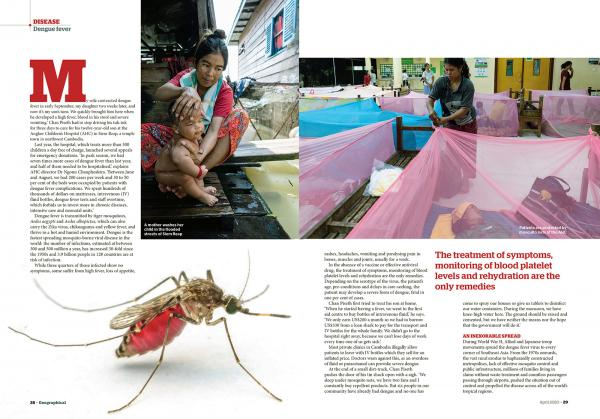 Client:  Geographical Magazine  - Magazine of the Royal Geographical Society - UK  Published: April 2020