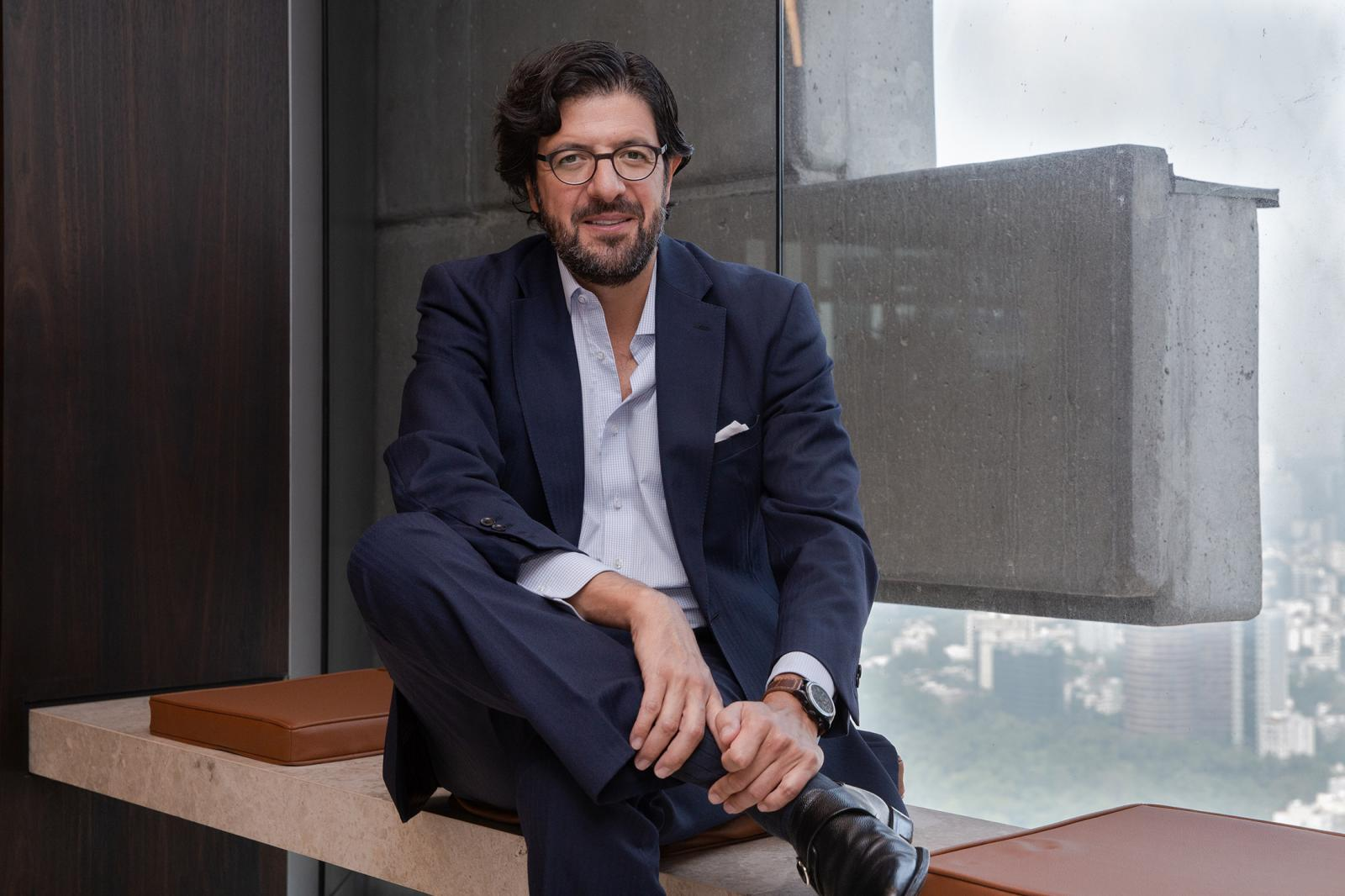 Daniel Martinez-Valle CEO of Orbia for The Financial Times.