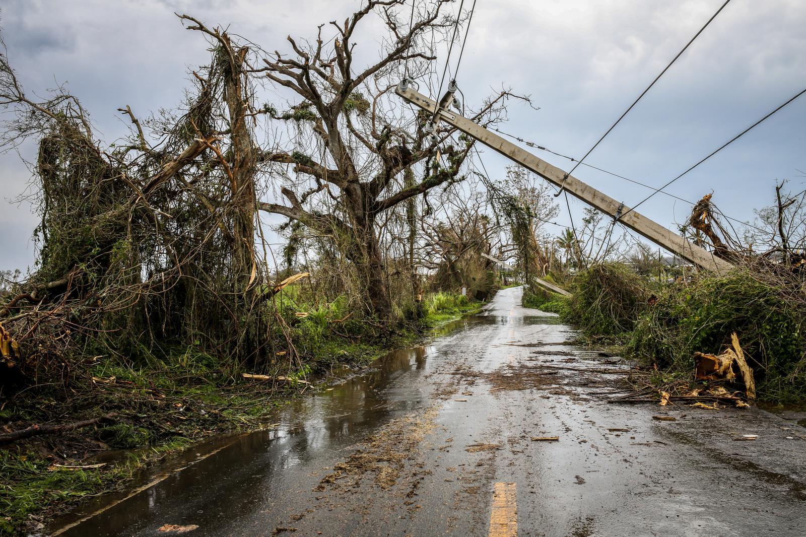 20 de septiembre de 2017. Paso de huracán María por el Municipio de Dorado.