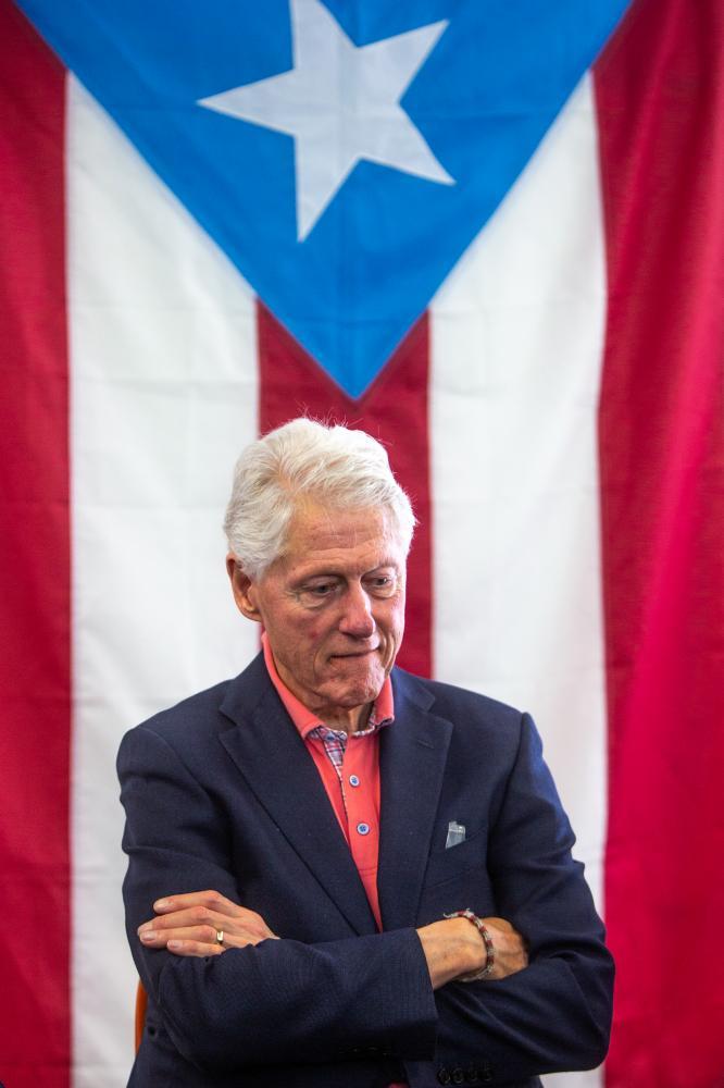 Bill Clinton, 2020.