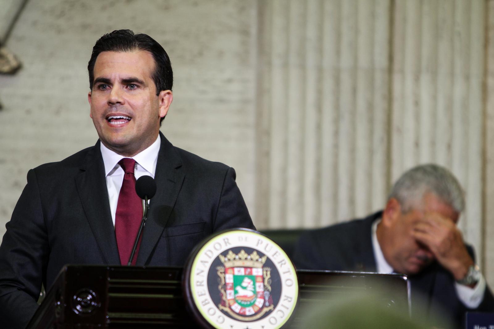 31 de mayo del 2017. El gobernador Ricardo Rosselló Nevares ofrece Mensaje de presupuesto.