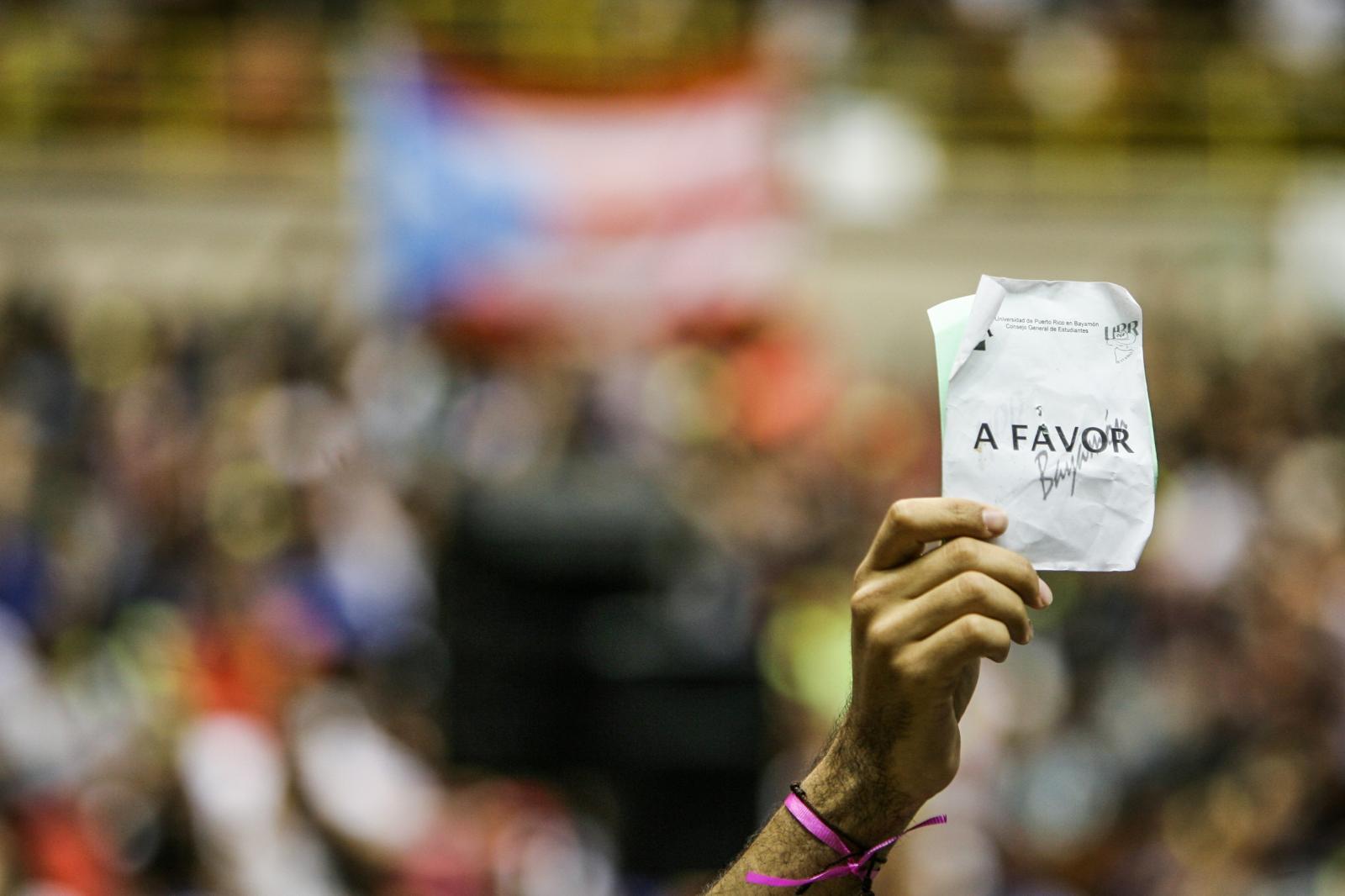 5 de abril de 2017. Asamblea Nacional UPR.