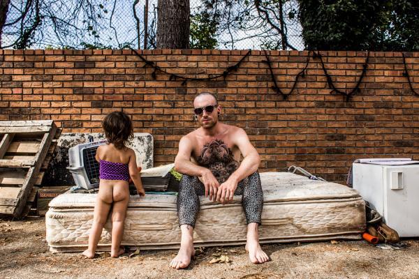 Johnny and Zuzu-North Carolina, 2015