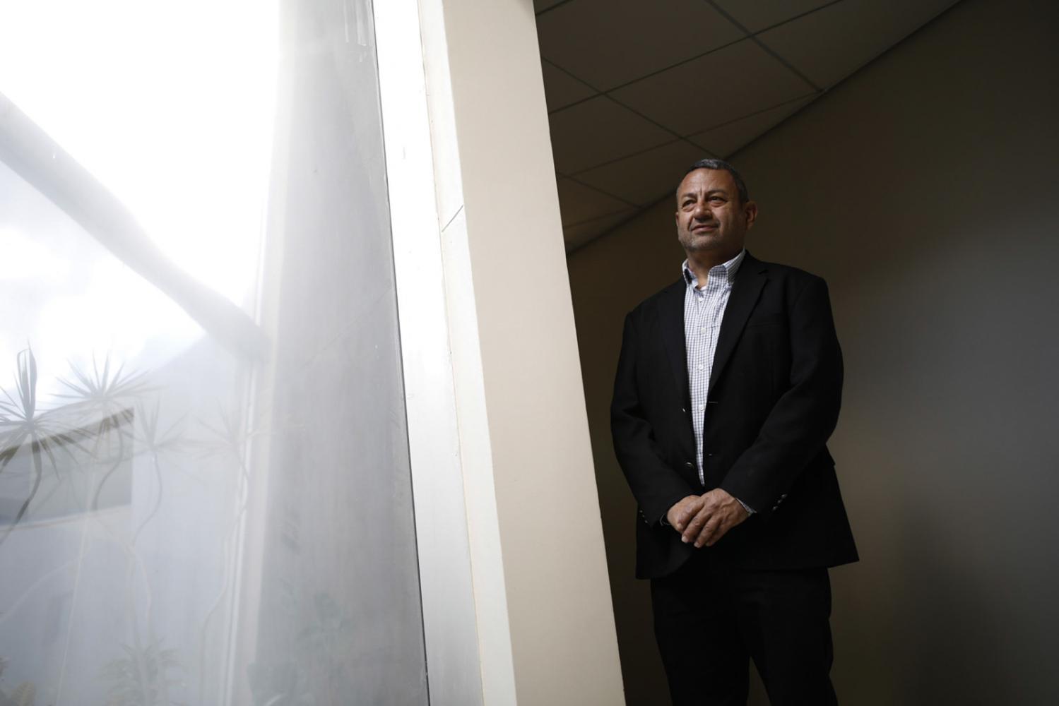 Professor Dan G. Blumberg, Vizepräsident im Bereich 'Research and Development', an der Ben-Gurion University of the Negev in Beersheva, Israel, 21.Februar 2017.