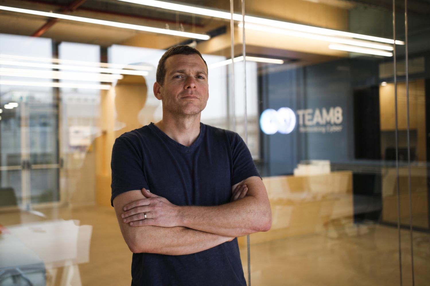 Nadav Zafrir, Chef von Team8, in den Büros von Team8 in Tel Aviv, Israel, 22.Februar 2017.