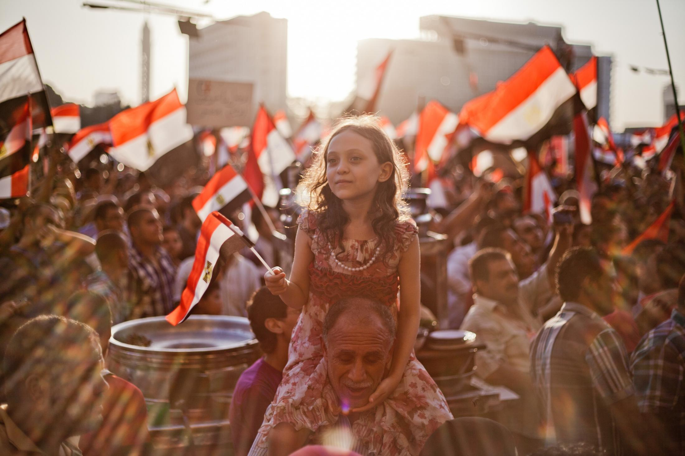 Thousands of protesters gathered in Egypt's Tahrir Square on June 28, 2013 calling for the resignation of President Mohamed Morsi.