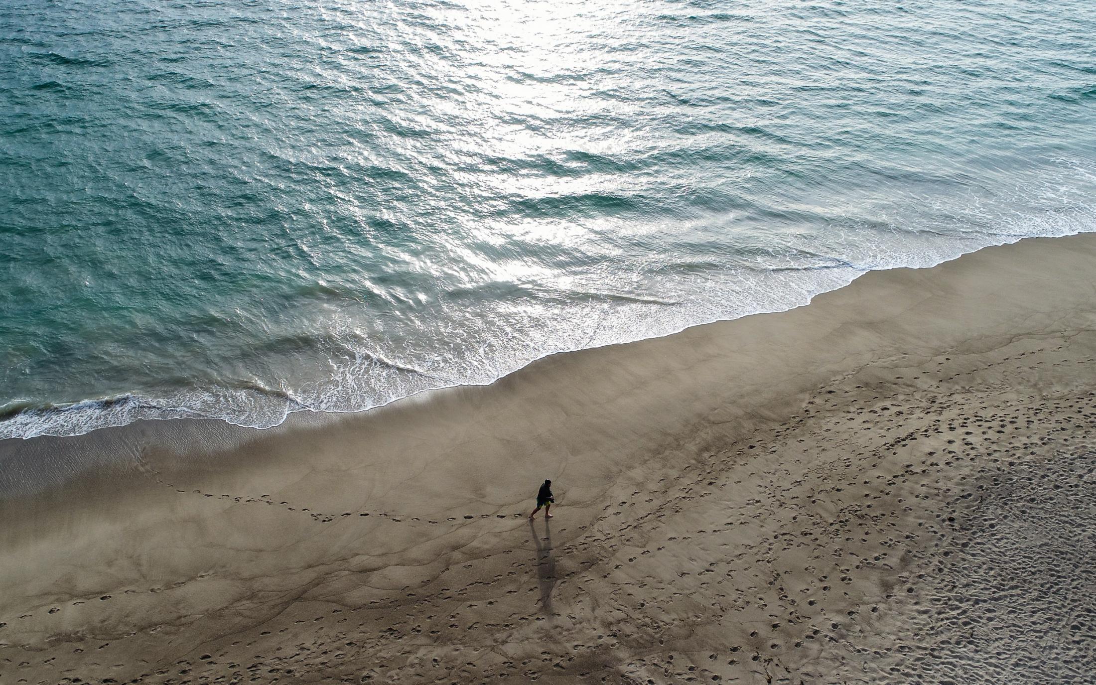 22 . Beach walker. Malibu. 2018