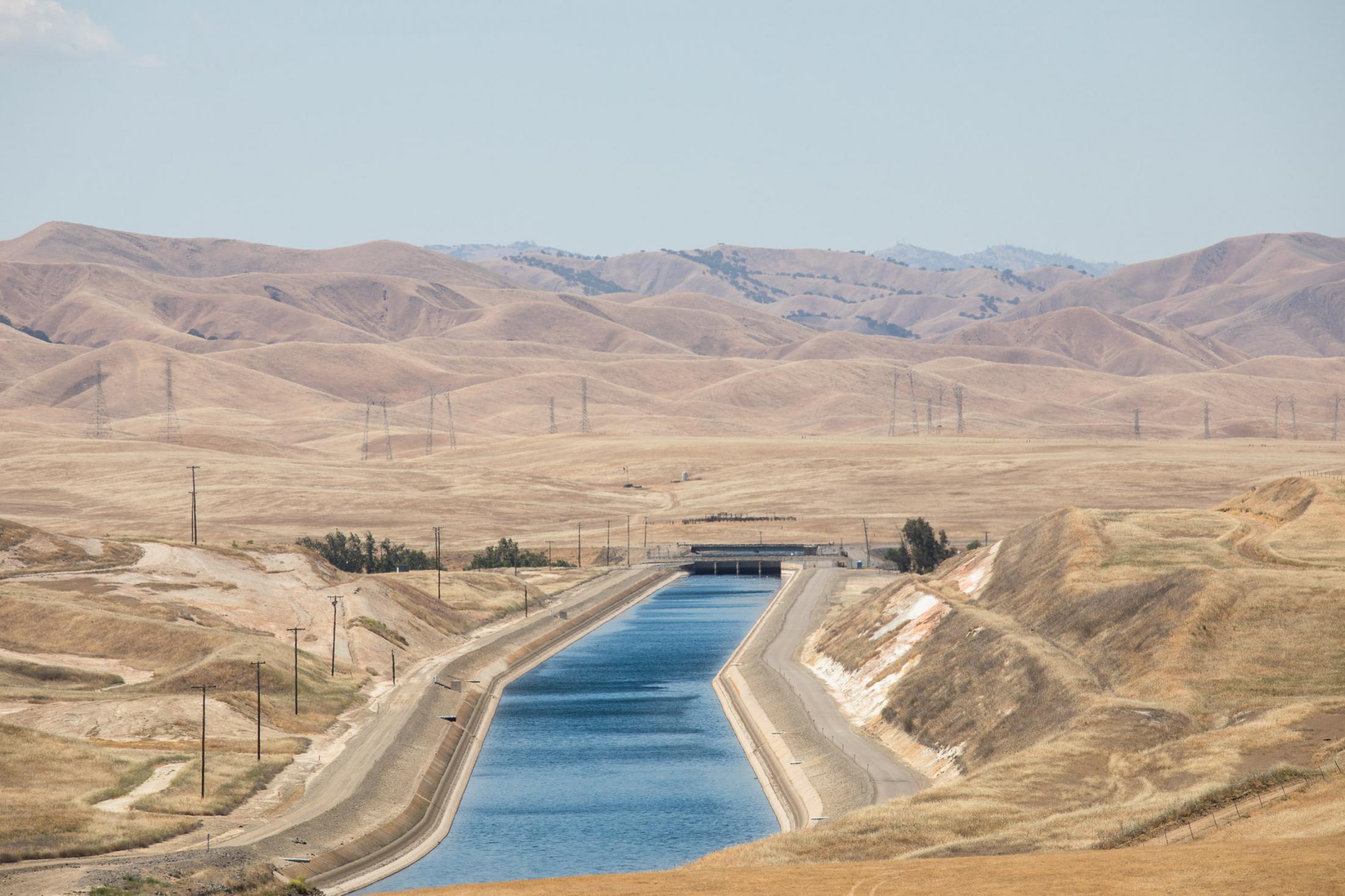 13. The California aqueduct. May 2018