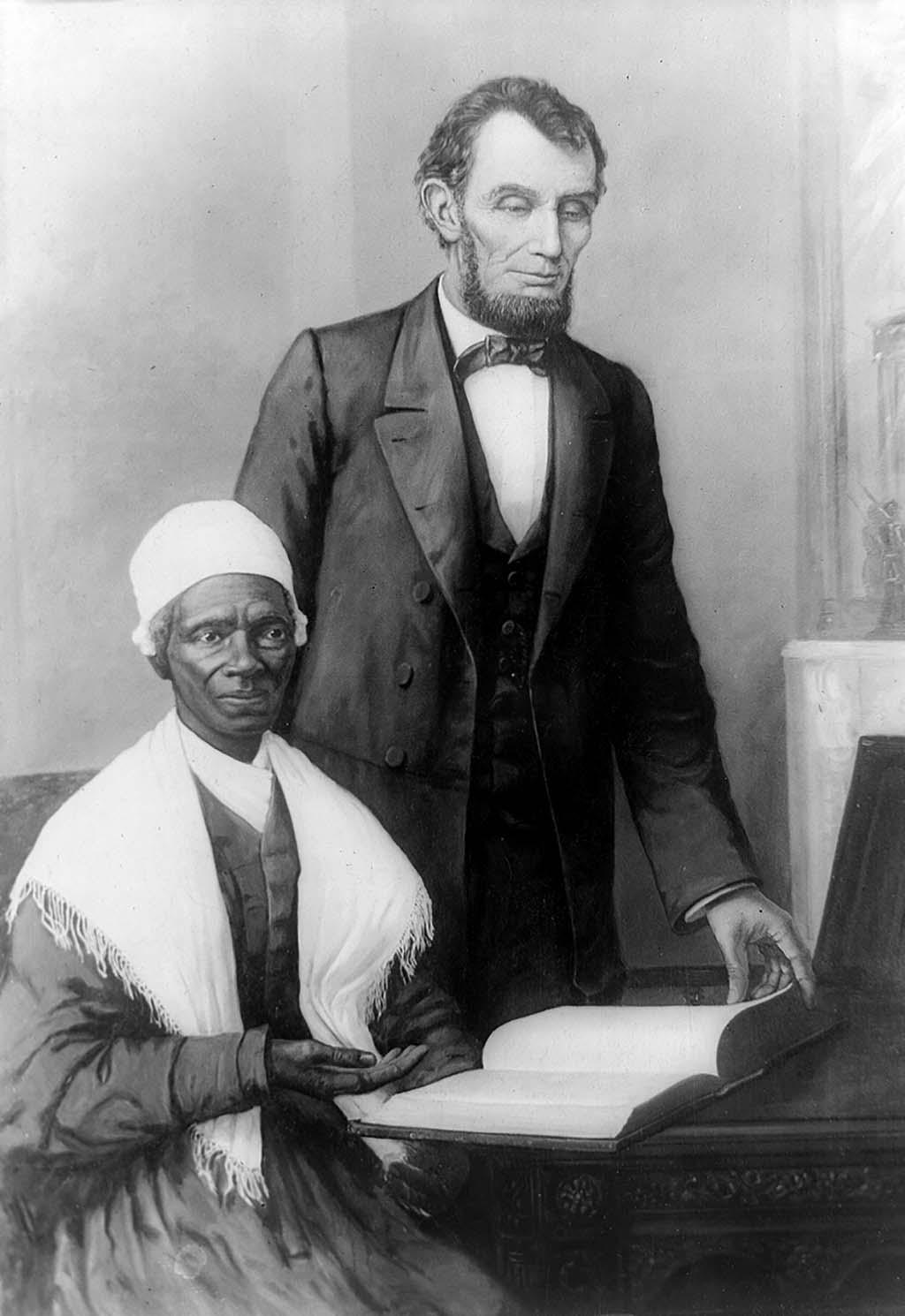 Art and Documentary Photography - Loading Sojourner_Truth_and_Abraham_Lincoln_Washington_DC_October_29_1864.jpg