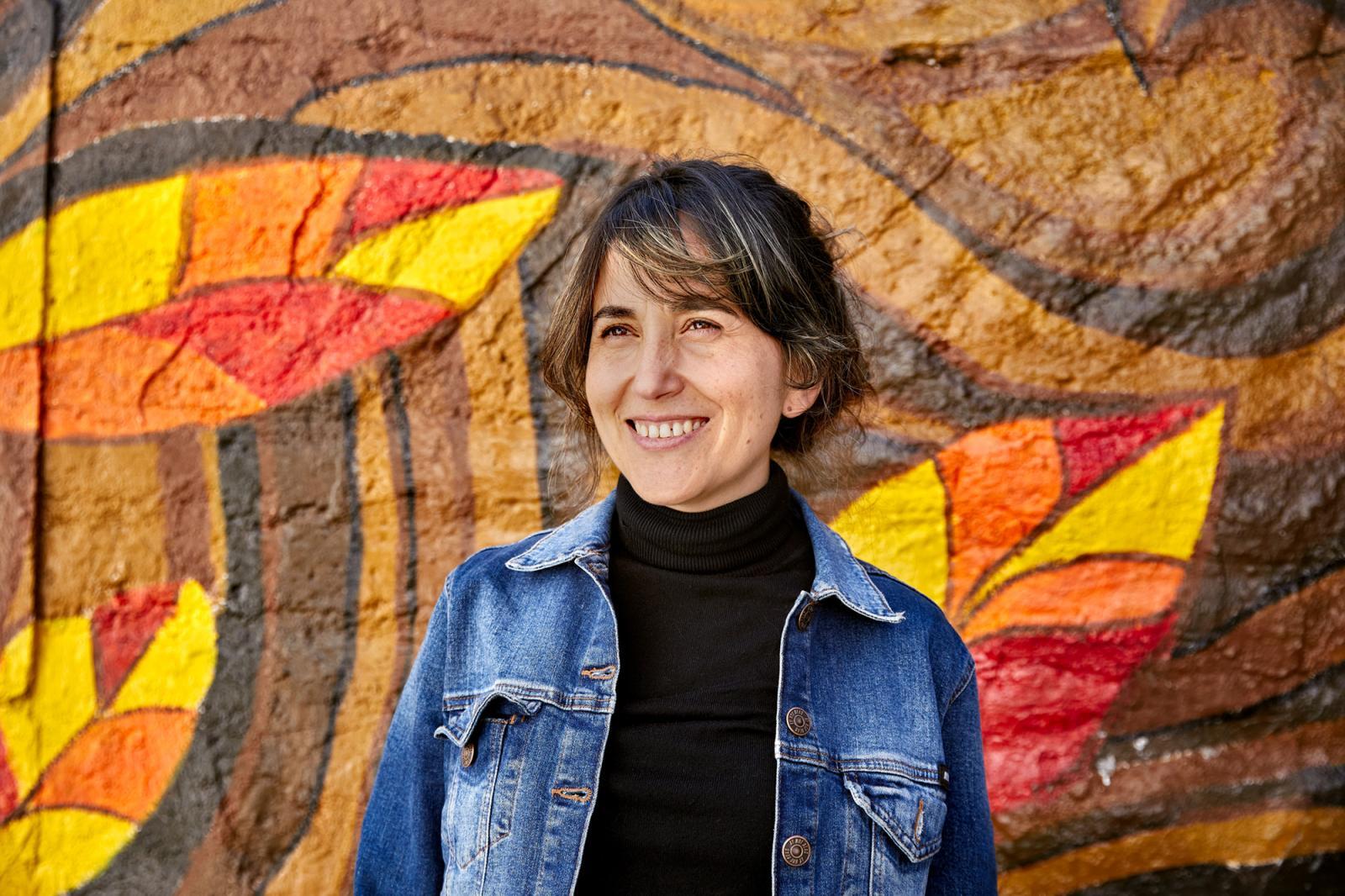 Gabriela Ponce, dramaturga y escritora.