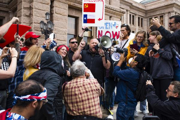 Open America Rally - Austin, Texas