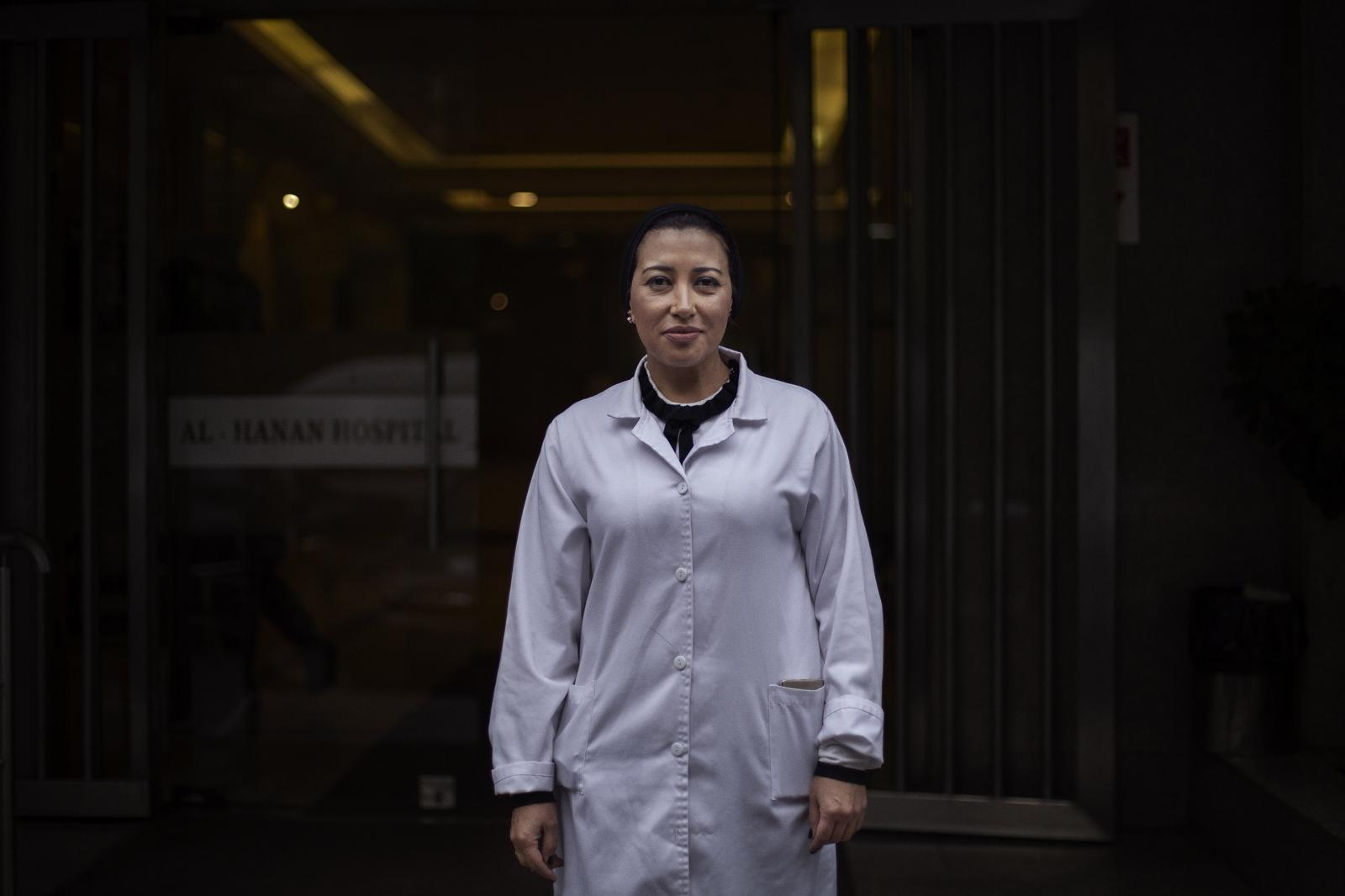 """Dr Manal Farran, ER doctor: """" We have been very affected by the crisis. We have far less patients. If we continue like in this decline, it's going to be a huge issue where won't be able to get our medicine"""". Tripoli. Lebanon. December 11th, 2019. Diego Ibarra Sánchez for CNN"""